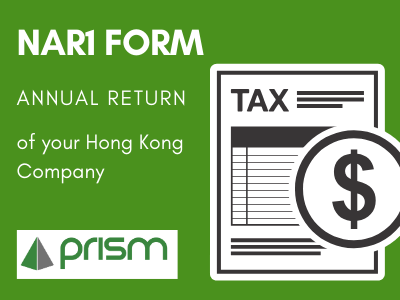 NAR1 form - annual return